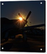 Planes Of Fame Mustang Morning Acrylic Print