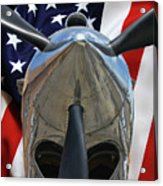 Planes Of Fame P-40c Warhawk Acrylic Print