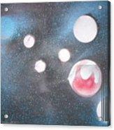 Planet Cripton Acrylic Print