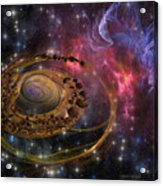 Planet Formation Acrylic Print