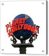 Planet Hollywood Sign Vegas Acrylic Print