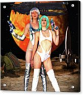 Planet Of The Space Vixens Acrylic Print