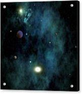 Planet Saredia Acrylic Print