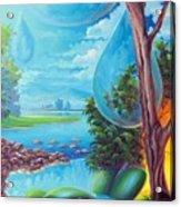 Planeta Agua Acrylic Print