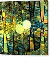Planetary Ellipses Acrylic Print