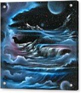 Planetary Falls Acrylic Print