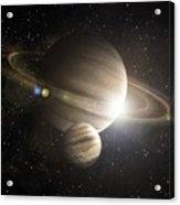 Planetary Ring Acrylic Print