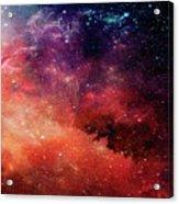 Planetary Soul Violet Acrylic Print