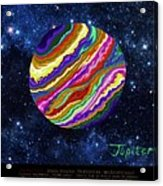 Planets 4 5 6 Astronomy Acrylic Print