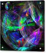 Planets Of Vega Acrylic Print