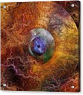 Planets Unstable Acrylic Print