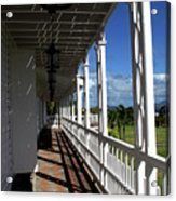 Plantation Porch Acrylic Print