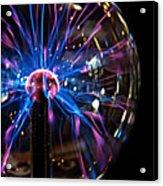 Plasma Sphere Acrylic Print
