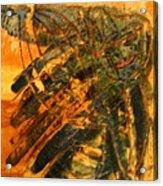 Plastered - Tile Acrylic Print