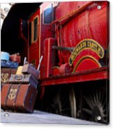 Platform Nine And Three Quarters Acrylic Print