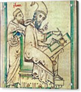 Plato With Socrates Acrylic Print