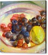 Platter Of Fruit Acrylic Print