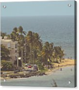 Playa Azul I Acrylic Print