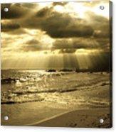 Playa De Oro Acrylic Print