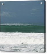 Playa Hermosa Wave Number One Central Pacific Coast Costa Rica Acrylic Print