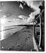 Playa Huequito Acrylic Print