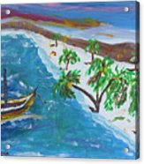 Playa Secreta II Acrylic Print