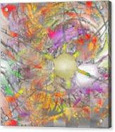 Playful Colors Of Energy Acrylic Print