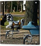 Playground Rides Acrylic Print