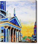 Playhouse And French Dome Acrylic Print