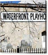 Playhouse Acrylic Print