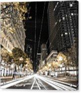 Playing In Traffic Acrylic Print
