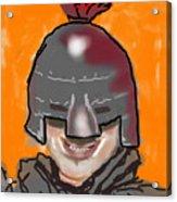 Playing Knight Acrylic Print