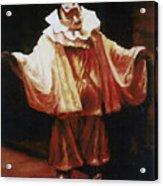 Playing The Clown Acrylic Print