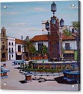Plaza Alta Acrylic Print