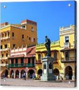 Plaza De Los Coches Acrylic Print