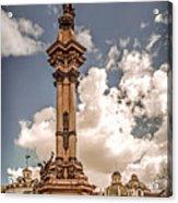 Plaza Grande Acrylic Print