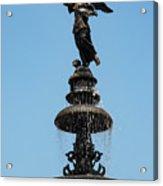 Plaza Mayor Fountain Acrylic Print