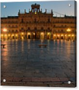 Plaza Mayor In Salamanca Acrylic Print