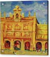 Plaza Mayor Salamanca Acrylic Print