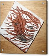 Plea -tile Acrylic Print