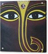 Pleasant Ganesha Acrylic Print