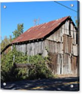 Pleasant Valley Barn 6 Acrylic Print