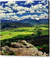 Pleasant Valley Colorado Acrylic Print