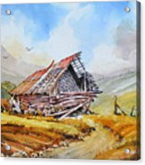 Pleasent Valley Barn Acrylic Print