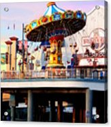 Pleasure Pier Acrylic Print