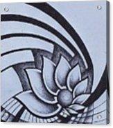 Pleiadean Daisy Acrylic Print