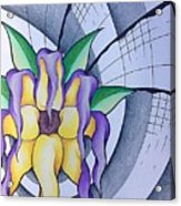 Pleiadean Sunflower Acrylic Print