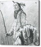 Taopi Ota - Lakota Sioux Acrylic Print by Brandy Woods