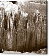 Plimouth Wood Acrylic Print