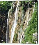 Plitvice Croatia Waterfalls 2 Acrylic Print